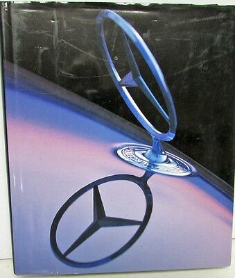 Mercedes Cars History Book English German French Text
