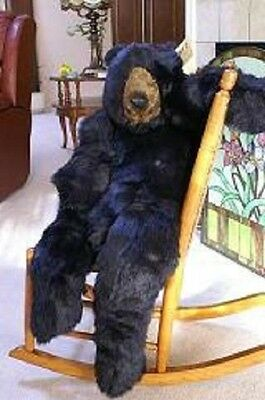 Black Bear Stuffed Ditz Designs 48 inch Large Animal Body Pillow Home Decoration