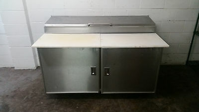 """60"""" Silver King Pizza Prep Table SKPZ0 Tested 115 Volt"""