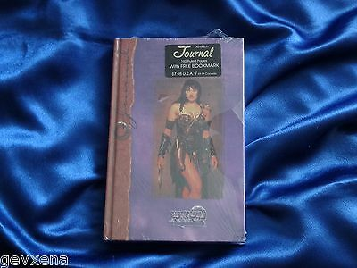 SUPER RARE Official Licensed Xena (Lucy Lawless) Journal with 160 Pages!