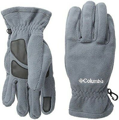 Columbia Thermarator Gants en polaire Homme Graphite FR : M (Taille NEUF