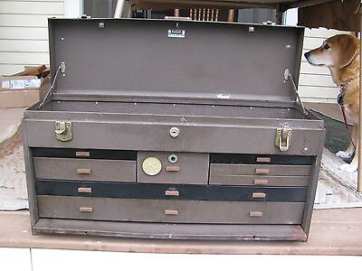 Kennedy 526  Metal Machinist Tool chest  Box