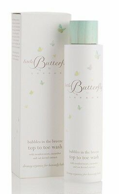 Little Butterfly London Bubbles in the Breeze Top to Toe Wash (200ml)