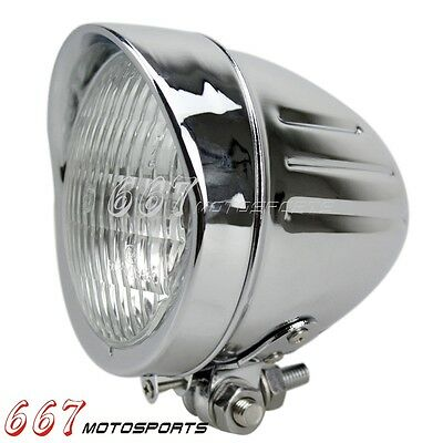 Motorcycle Head Light Headlight Lamp For Harley Bobber Chopper Cruiser Racer Hot