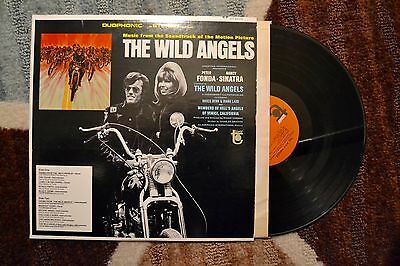 Wild Angels Fonda Sinatra Movie Soundtrack Rock Record lp VG+