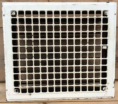 Antique Metal Floor Wall Heat Grate Register Vent