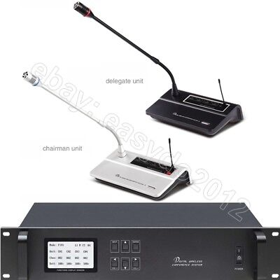 MICWL A100 Discussing Digital Wireless Microphone System for Big Meeting Room