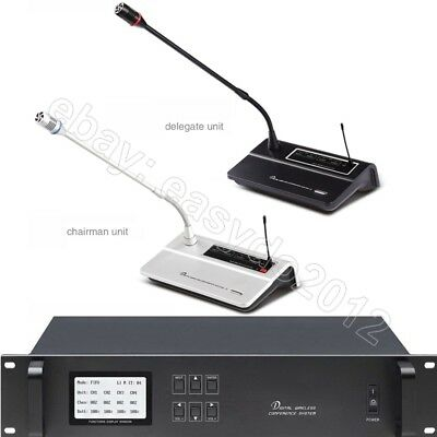 WCS-100 Pro Discussing Digital Wireless Microphone System for Big Meeting Room