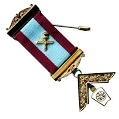 Mark Worshipful Master Breast jewel (Free Delivery)
