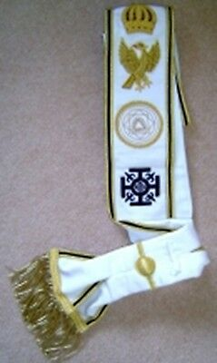 Red Cross of Constantine Grand Sash (Free Delivery)