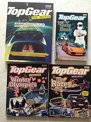 6 TOP GEAR BOOKS Bulk Lot