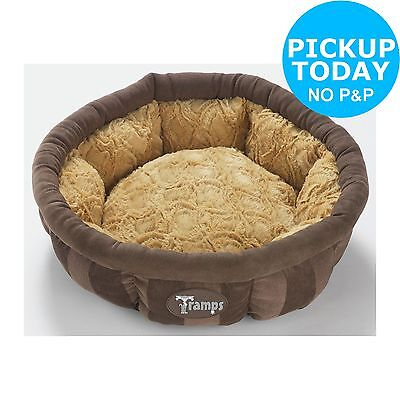 Tramps Aristocat Medium Cat Bed - Brown. From the Official Argos Shop on ebay