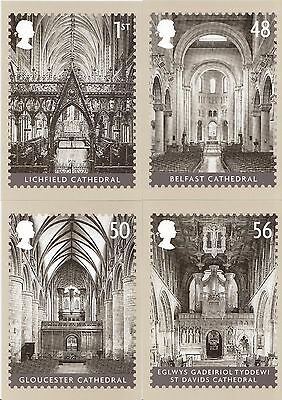 GB - Mint PHQ Cards - 2008 - Cathedrals