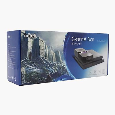 New DongCoh Game Bar for Play Station 4 Blacl colour  -  3.5 Inch