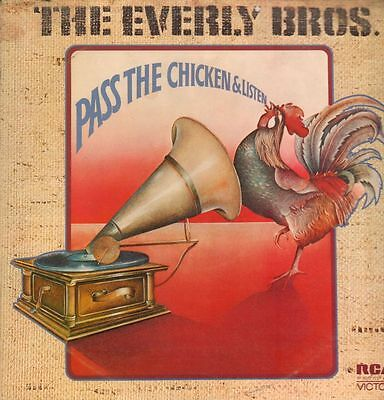 The Everly Brothers(Vinyl LP)Pass The Chicken & Listen-RCA-SF 8332-UK-VG+/Ex