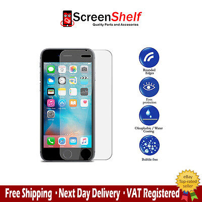 2 x 100% GENUINE TEMPERED GLASS FILM SCREEN PROTECTOR FOR APPLE IPHONE 7
