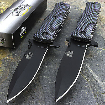 "2 x 8"" MASTER USA TACTICAL FOLDING ASSISTED OPEN FOLDING POCKET KNIFE EDC Spring"
