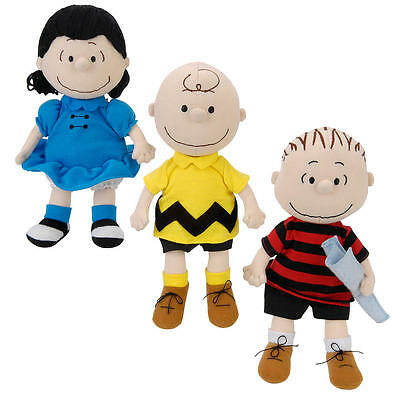 Madame Alexander 9 inch Peanuts Doll Collection - Charlie Brown, Lucy and Linus