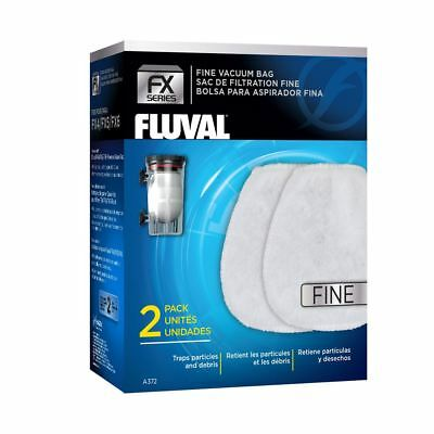 Fluval FX Gravel Vac Bag - Fine x2 For FX Gravel Vacuum Fish Tank Cleaner