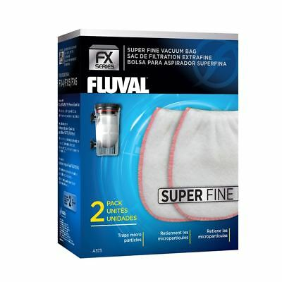 Fluval FX Gravel Vac Bag - Super Fine x2 For FX Gravel Vacuum Fish Tank Cleaner