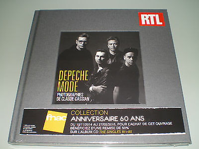 French Book Depeche Mode Limited Edition Fnac Photographies Neuf Sous Blister