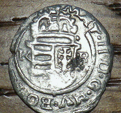 1625 Hungary SILVER 1 Denar - AWESOME COIN - Very Nice LOOK