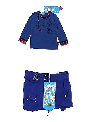 New Toddler Girl Mim Pi Circus Show Long Sleeve Top Skirt Set Size 3 Y 3T 98