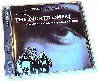 Jerry Fielding THE NIGHTCOMERS Marlon Brando Soundtrack CD New and Sealed