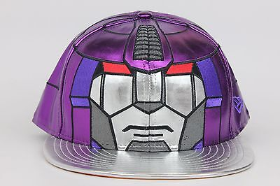 Transformers Galvatron Character Face Armor New Era 59Fifty Fitted Hat Cap 61a4777f5537