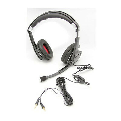 NEW Plantronics Multimedia Stereo Audio 350 Gaming Headset Chat PC MAC