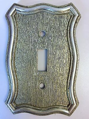 Vintage Light Switch Plate Cover Single Toggle 1968 American Tack And Howe Co
