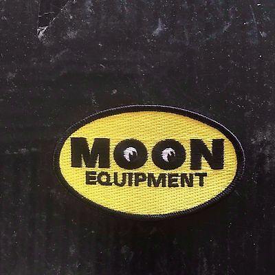 Moon 3 Inch Patch Embroidered Hot Rod Rat Mooneyes Iron Jacket Ii