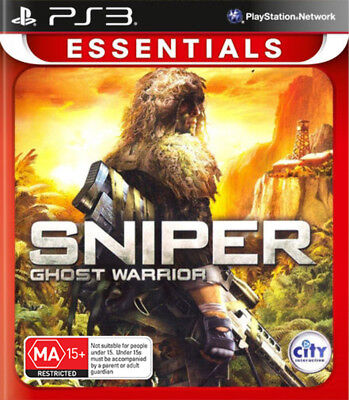 Sniper Ghost Warrior Special Edition PS3 Game NEW