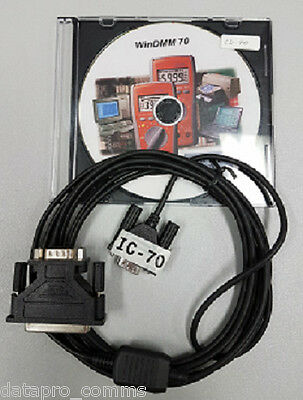RS232 Software & Cabling for APPA 70 Series