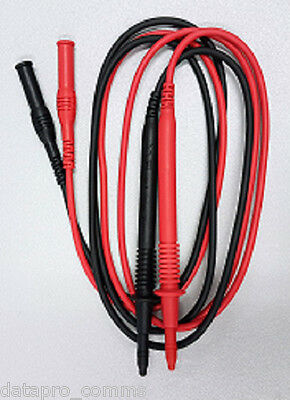 UT-L166 Red and Black Lead Set