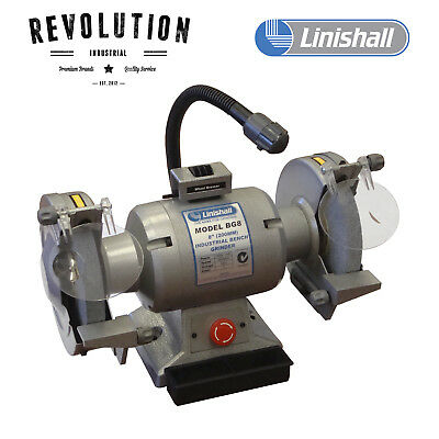 "8"" (200mm) Linishall Bench Grinder - BG8"