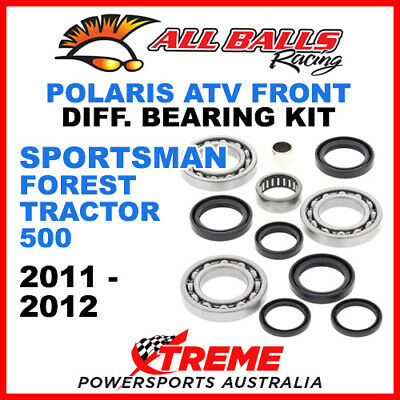 25-2065 Polaris Sportsman Forest Tractor 500 11-12 Front Differential Bearing Ki