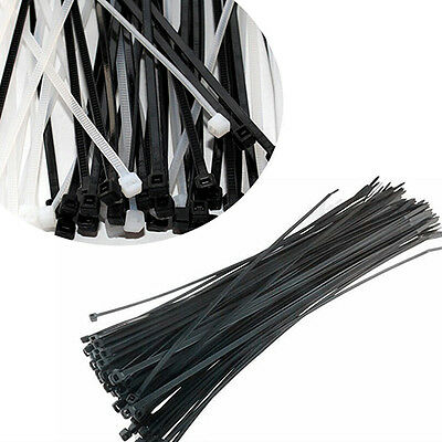 100pcs Network Plastic Cable Wire Organiser Zip Tie Cord Straps 3*100mm Stylish