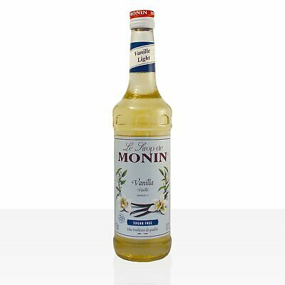 Monin Sirup Vanille light - zuckerfrei -  0,7 Liter Flasche