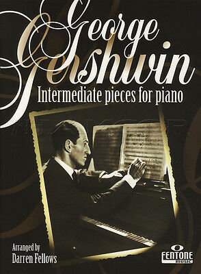 George Gershwin Intermediate Pieces for Piano Sheet Music Book