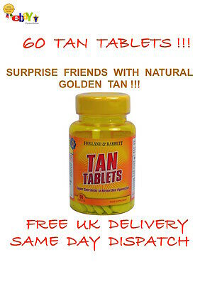 60 Tanning Tablets Pills Natural Bronze Glow SUN-KISSED TOUCH WITHOUT SUN BEDS