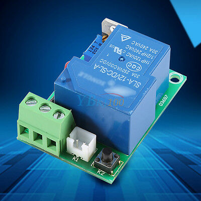General 12V 30A Car Battery Anti-Over Discharge Protection Module Controller New
