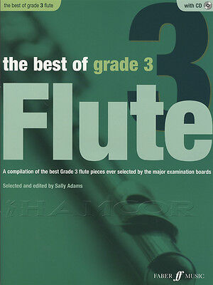 The Best of Grade 3 Flute Sheet Music Book with CD & Piano Accompaniment