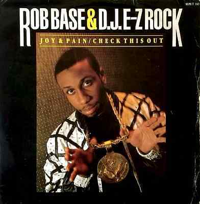 "ROB BASE & DJ E-Z ROCK - Joy & Pain (12"") (G-/G-)"