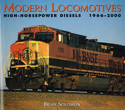 Modern Locomotives: High Horsepower Diesels - Rr Book Estate Sale