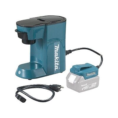 Makita dcm500z 18V LXT® Lithium-Ion Cordless Coffee Maker with 110 volt cord NEW