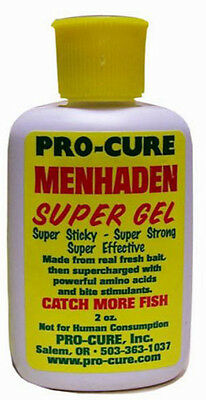 Pro-Cure Menhaden Super Gel 2oz