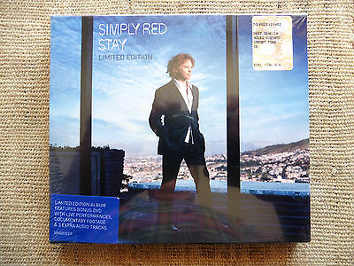 Simply Red ‎– Stay ‎- CD + DVD Limited edition sigillato / Sealed