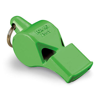 Fox 40 Pearl Whistle, Referee Coach, Safety Alert, Dog, Rescue, Outdoor - Green