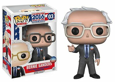 Funko Pop The Vote Campaign 2016: Bernie Sanders Vinyl Collectible Action Figure